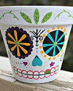 Icon of the event Get Inspired Workshops: Day of the Dead Pots