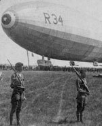 Icon of the event Zeppelin Raids on England during World War 1