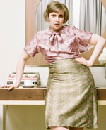 Icon of the event Lena Dunham at the Appel Salon
