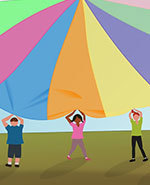 Icon of the event Parachute with Play and Stay