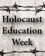 Icon of the event Holocaust Education Week featuring Nathan Leipciger