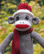 Icon of the event Operation Sock Monkey Workshop for teens and adults