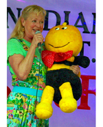 Icon of the event Cindy Cook from Polka Dot Door:  Sing'n Spell