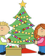 Icon of the event Tree Decorating Party and Storytime