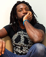 Icon of the event RUSH SEATS ONLY Marlon James
