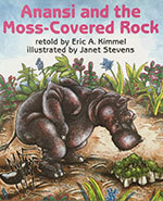 Icon of the event Puppet Show:  Anansi and the Moss Covered Rock