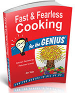 Icon of the event Ann Tudor: Fast and Fearless Cooking for the Genius