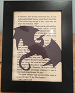 Icon of the event Maker Monday: Framed Book Art