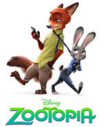 Icon of the event Monday Movie:  Zootopia