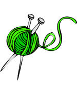 Icon of the event Knitting night Tuesdays.