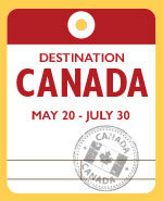 Icon of the event Destination Canada