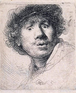 Icon of the event CANCELLED: GREAT ART: Rembrandt in Black and White