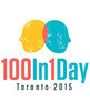 Icon of the event 100 in 1 Day Toronto 2015