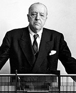 Icon of the event Significant Western Architects. Mies van der Rohe with Marta O'Brien