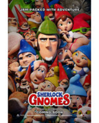 Icon of the event Wednesday Movies: Sherlock Gnomes