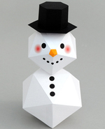 Icon of the event P.A. Day Makers: Papercraft Snowman