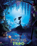 Icon of the event Saturday Family Movie: The Princess and the Frog
