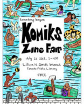 Icon of the event Comics/Komiks Zine Fair
