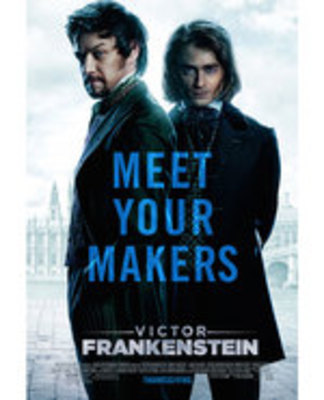 Icon of the event Movie: Victor Frankenstein (2015)