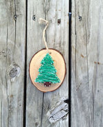 Icon of the event Wood Slice Ornaments