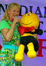 Icon of the event Cindy Cook From Polka Dot Door: Sing 'n Spell