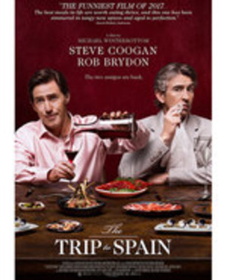 Icon of the event Adult Afternoon Movie: The Trip to Spain (2017)