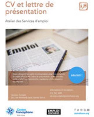 Icon of the event CV et lettre de présentation
