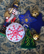 Icon of the event Embroidered Felt Ornaments