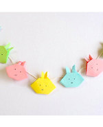 Icon of the event Origami Bunny Bunting