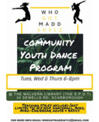 Icon of the event Madd Skylz Youth Dance Program