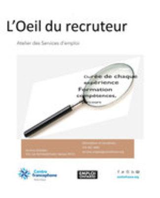 Icon of the event L'oeil du recruteur